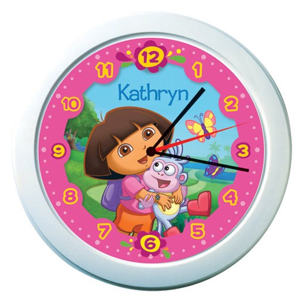 Dora Personalised Clock