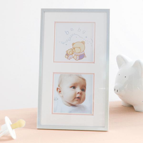 Baby Girl Double Photo Frame - Baby Girl Gifts