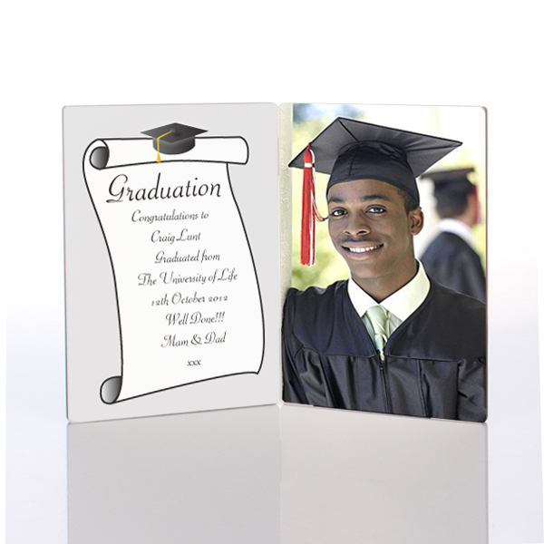 Graduation Photo Message Plaque - Graduation Gifts