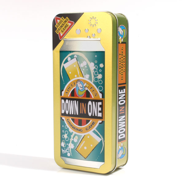 Down In One Drinking Game - Drinking Game Gifts