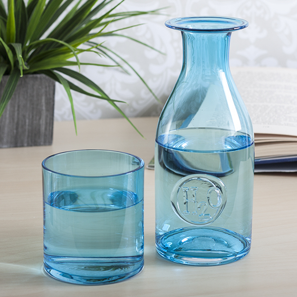 Dartington Personalised Handmade H2O Carafe and Glass Set - Handmade Gifts