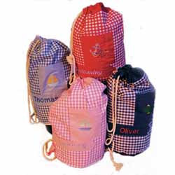 Drawstring Duffle Swimming Bag Navy