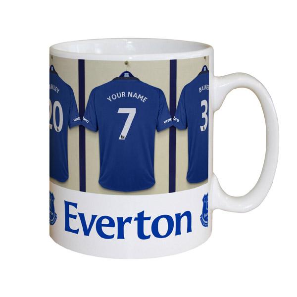 Personalised Everton Dressing Room Mug - Everton Gifts