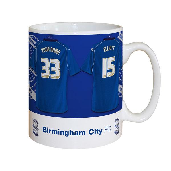 Personalised Birmingham City Dressing Room Mug