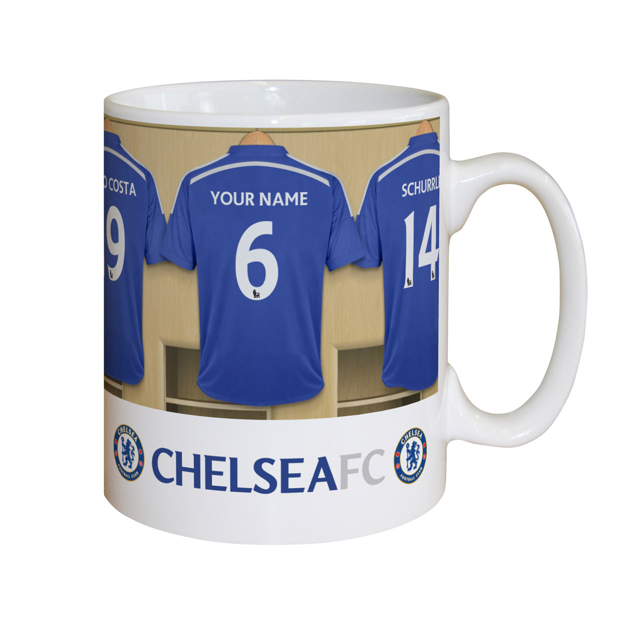 Personalised Chelsea Dressing Room Mug - Chelsea Gifts