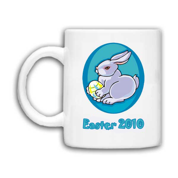 Personalised Easter Bunny Mug Standard Delivery