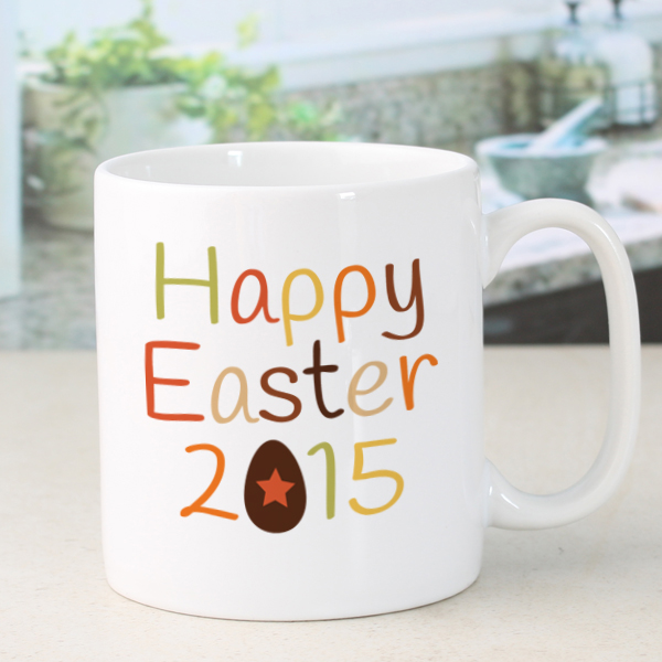 Happy Easter Personalised Mug