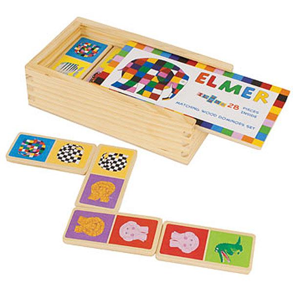 Elmer Dominoes Set - Elmer Gifts