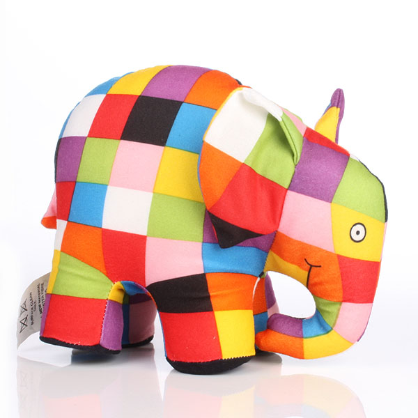 Large Elmer Soft Toy - Elmer Gifts
