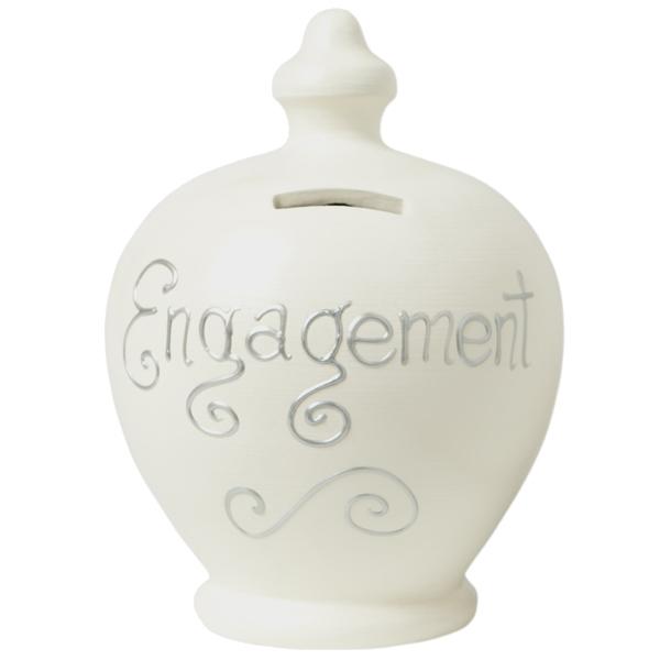 Engagement Personalised Terramundi Money Pot - Money Gifts