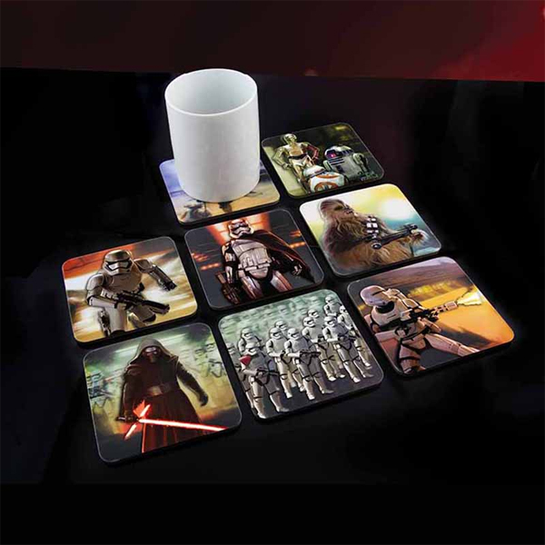 Star Wars Episode VII 3D Coasters - Star Wars Gifts