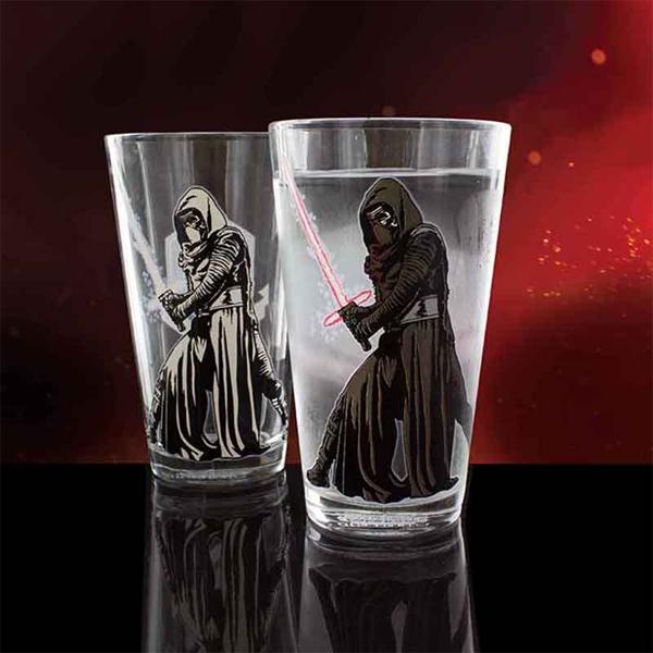 Star Wars Episode VII Kylo Ren Colour Change Glass - Star Wars Gifts