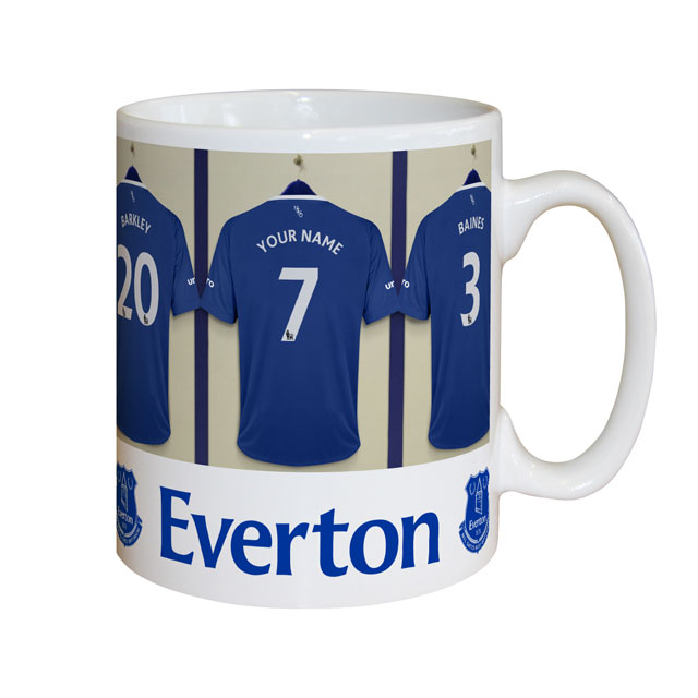 Personalised Everton Dressing Room Mug - Everton Gifts