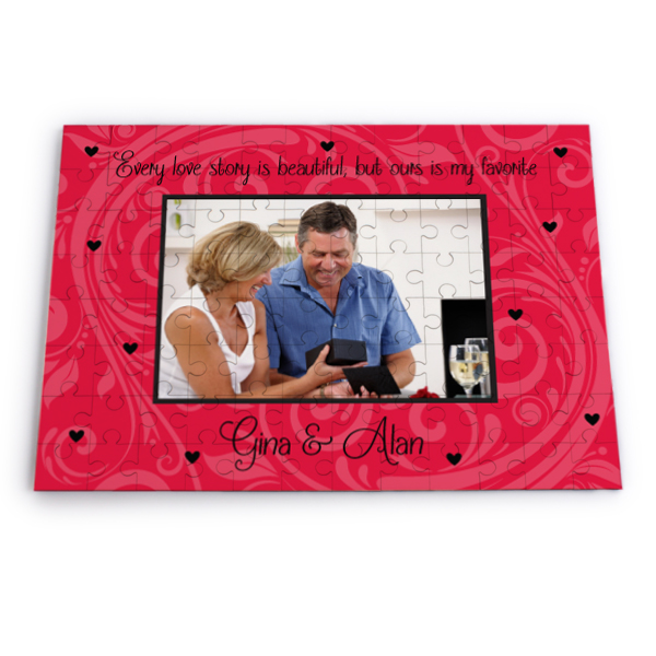 Personalised Every Love Story Jigsaw Puzzle - Jigsaw Puzzle Gifts
