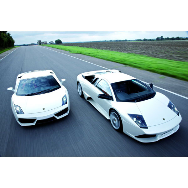 Supercar Driving Thrill with Passenger Ride - Thrill Gifts