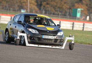 Skid Control Driving Experience At Silverstone