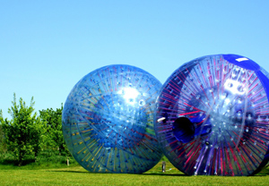 Harness Zorbing for Two - Zorbing Gifts