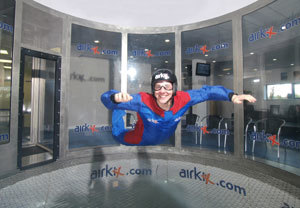 Airkix Indoor Skydiving Super Saver with DVD and Anytime Upgrade
