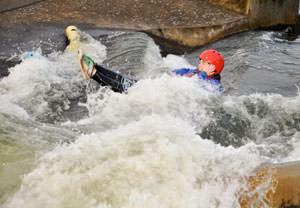 Junior White Water Tubing Experience
