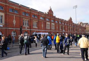 Family Tour Of Fulham Fcs Craven Cottage Stadium