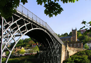 Ironbridge Attractions with Fish and Chip Lunch for Two