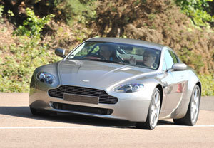 Aston Martin Driving Thrill with Passenger Ride - Thrill Gifts