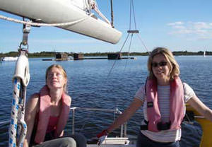 Have A Go At Sailing For Two (half-day)