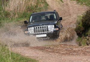 4x4 Off Road Course At Knockhill