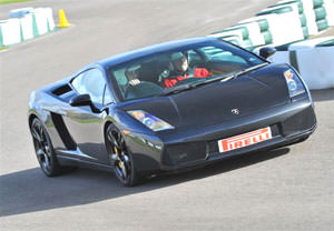 Lamborghini Driving Blast At Goodwood