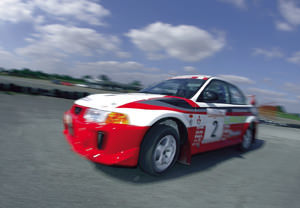 Ferrari And Rally Driving Thrill