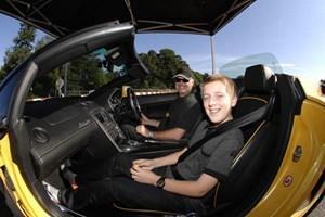 Junior Supercar Driving Thrill