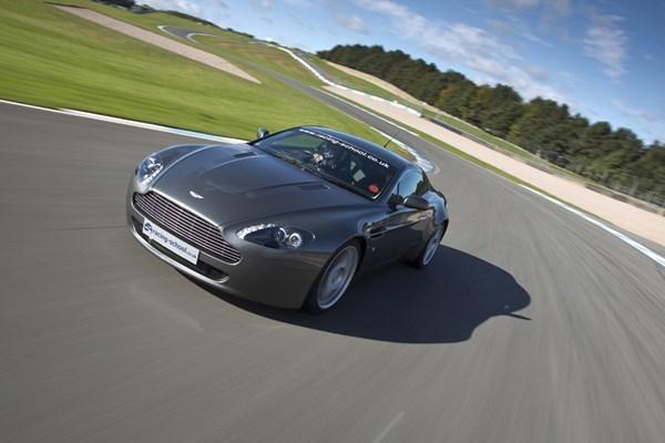 Aston Martin Driving Thrill At Brands Hatch