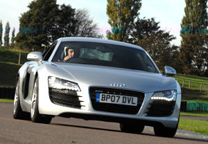 Audi R8 And Lamborghini Gallardo Driving Thrill