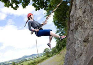 Climbing And Abseiling Combo In Gwynedd
