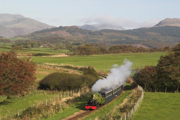 Cream Tea and Steam Experience for Two at Ravenglass Railway