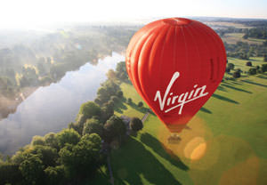 Virgin Weekday Hot Air Balloon Flight for Two