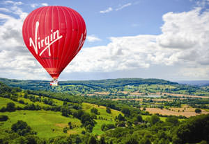 Virgin Hot Air Balloon Flight for Two - 40th Birthday Gifts For Her