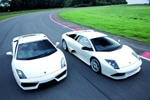 Lamborghini Driving Blast With Passenger Ride