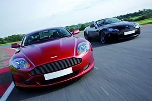 Aston Martin Driving Blast With Passenger Ride