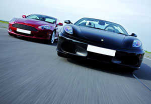 Ferrari And Aston Martin Driving Thrill