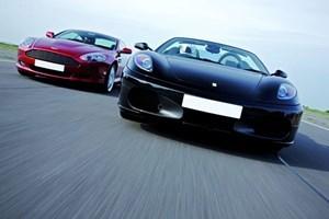 Ferrari And Aston Martin Driving Thrill With Passenger Ride