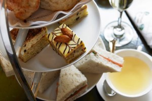 Champagne Afternoon Tea At Hilton Hotel Cardiff
