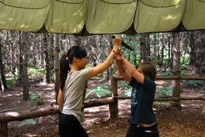 Hunger Games Survival Training Experience