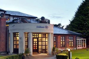 Sparkling Spa Day and 3 Course Dinner at Hilton Puckrup Hall