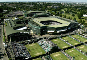 Child Wimbledon Tennis Tour