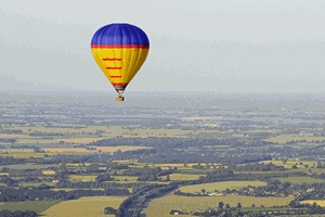 Champagne Balloon Flight
