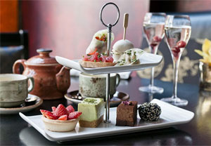 Afternoon Tea For Two With Champagne At Buddha Bar In Knightsbridge