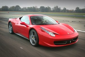 Ferrari 458 Driving Thrill