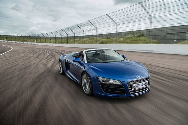 Four Supercar Driving Blast With High Speed Passenger Ride