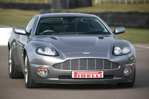 Aston Martin Vantage Thrill At Goodwood